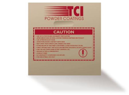 TCI powder coatings safety information